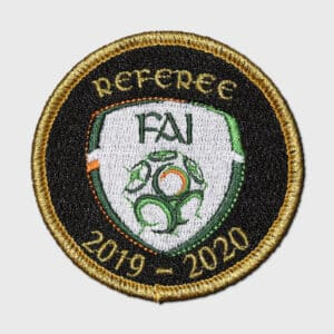 FAI embroidered badge