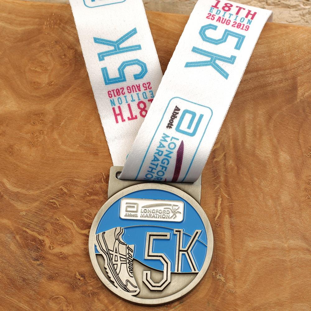 Longford Marathon 5K Medal